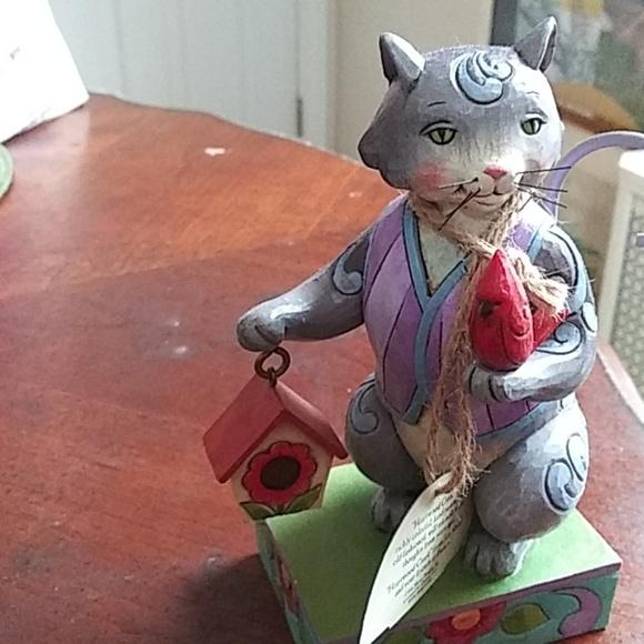 Jim Shore Other - Jim Shore collectible cat